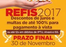 Prazo para refinanciamento das dívidas termina dia 30 em Cruzeiro do Oeste