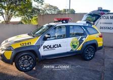 Polícia Militar recebe nova viatura para reforçar segurança de Douradina