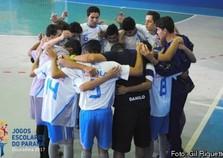 Cruzeiro do Oeste vence Pérola no Futsal Masculino A em jogo de seis gols