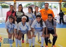 No Futsal Feminino A Pérola empata com Xambrê e garante vaga à próxima fase