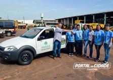 Douradina recebe carro para combate a dengue