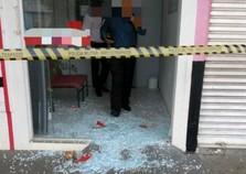 Homens tentam arrombar caixa eletrônico em Diamante do Norte