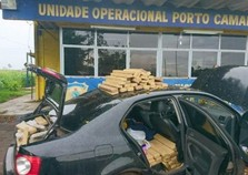 Mais de meia tonelada de maconha é apreendida pela PRF em Alto Paraíso