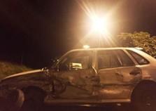 Motorista fica gravemente ferido em acidente na rodovia PR-323