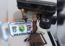 Polícia recupera objeto furtado em Douradina