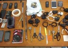 Revista em celas da cadeia de Icaraíma apreende 15 celulares