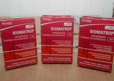 Saúde interdita hormônio de crescimento Biomatrop®