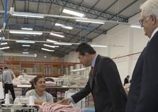 Empresa têxtil brasileira inaugura fabrica em Cidade do Leste