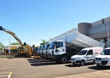 Santa Terezinha de Itaipu ganha nova frota de veículos pesados