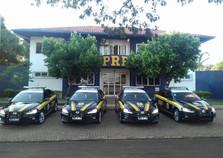 Delegacia da Polícia Rodoviária Federal em Foz recebe quatro novas viaturas