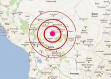Rede sismográfica da usina de Itaipu registra terremoto da Bolívia