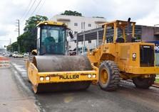 Obras em ruas serão intensificadas com usina de asfalto