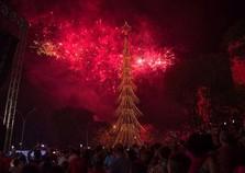 Show de fogos encerra o Natal de Foz nesta sexta-feira
