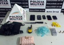 Polícia prende suspeitos de roubo e tráfico em Mariana