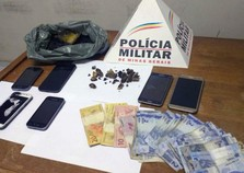 Suspeito de tráfico é preso no Bairro Cabanas