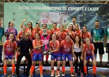 Copa Regional de Futsal Feminino 2017 tem campeã