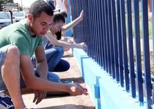 Projeto universitário transforma a sede da Adefiu em Umuarama