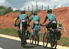 Ciclistas umuaramenses já pedalaram 500 km a caminho de Brasília