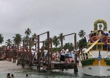 Cortejo marítimo celebra Buscada de São Gonçalo em Itapissuma