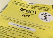 Divulgação das notas do ENEM 2017 será antecipada para 18 de janeiro