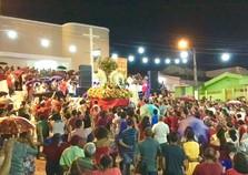 Fiéis celebram encerramento da Festa de São Sebastião, em Paudalho