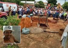 Trabalhador morre em desmoronamento de fossa em Icaraíma