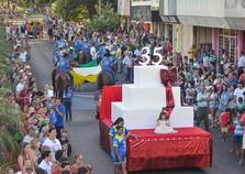 Douradina comemora aniversário de 35 anos com grandioso desfile