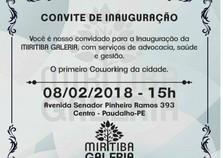 Miritiba Galeria será inaugurada em Paudalho com conceito Coworking