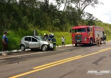 Motorista morre em colisão frontal entre veículos na estrada Boiadeira