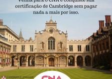 Parceria garante ao CNA aplicar exames de proficiência em inglês