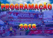Programação do carnaval 2018 de Paudalho é divulgada