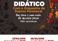 Orquestra de Sopros fará concertos didáticos em Mandiocaba e Graciosa