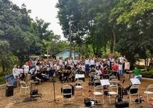 Orquestra de sopros faz concerto didático em Graciosa nesta quarta