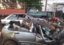 Homem morre ao colidir com caminhão canavieiro na PR-492