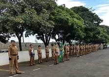 Oitavo batalhão realiza solenidade em homenagem ao patrono Tiradentes