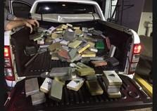 PC de Paranavaí apoia Polícia Federal em apreensão de 287kg de cocaína