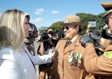 PM do Paraná tem primeira mulher no comando em 163 anos