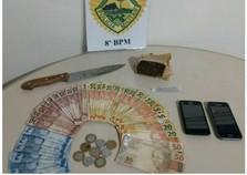 PM fecha ponto de venda de drogas em Paranavaí