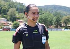 Árbitra de Goioerê participa de treinamento da Fifa no Qatar