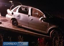 Duas pessoas ficam feridas em capotamento na rodovia PR-367