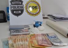 Homem é preso por tráfico de drogas no bairro San Marino em Umuarama