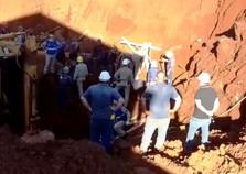 Três pessoas morrem soterradas em construção em Cascavel