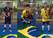 Atletas da AFSU são campeões sul-americano com a Seleção Brasileira