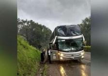 Ônibus da dupla Maiara e Maraísa sofre acidente no Paraná