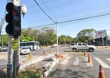 Obras na Castelo Branco e Flórida exigem atenção dos motoristas