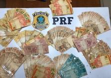Jovem é detido com mais de R$ 8 mil escondidos na cueca na Dutra