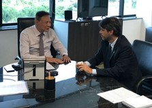 Alexandre Serfiotis cobra providências da ANTT para a região