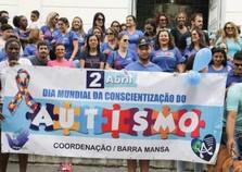 Associação de Barra Mansa faz trabalho de conscientização sobre autismo