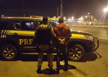 Foragido da Justiça do Rio Grande do Sul é preso na Via Dutra, em Itatiaia