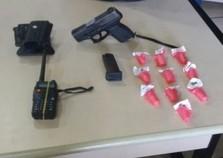 Policiais são recebidos a tiros e prendem suspeito de tráfico em Angra dos Reis